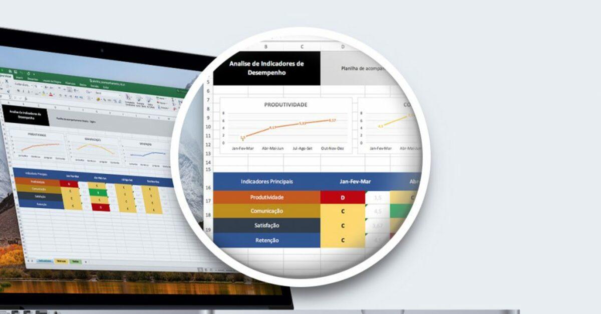 Planilha Gratuita: acompanhe os indicadores de desempenho das suas ações de comunicação interna.